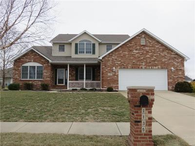 Mascoutah Single Family Home For Sale: 1136 Widgeon Drive