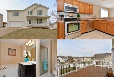 Wentzville MO Single Family Home For Sale: $214,900