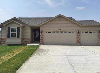 Wright City Single Family Home For Sale: Lake Tucci Manor Drive