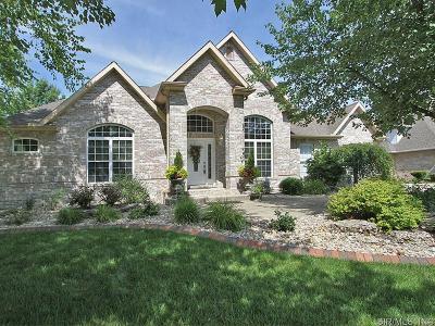 Edwardsville Single Family Home For Sale: 47 Birdie Court