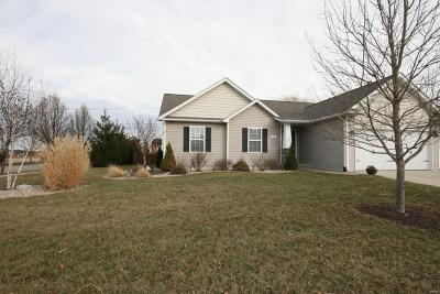 Mascoutah Single Family Home For Sale: 703 Moorland Circle