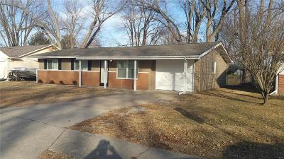 Fairview Heights Single Family Home For Sale: 6124 Old Collinsville