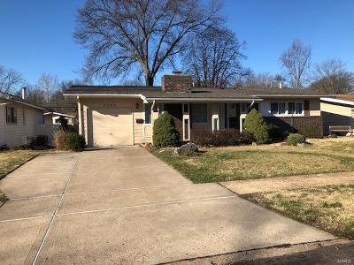 Florissant MO Single Family Home For Sale: $90,000