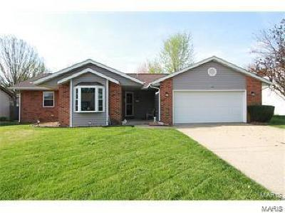 Fairview Heights Single Family Home For Sale: 400 Kim