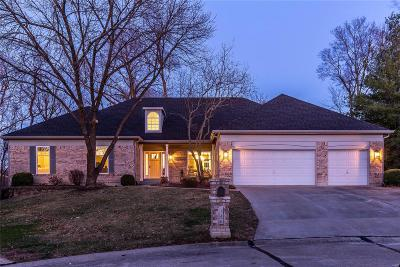ST CHARLES Single Family Home Contingent No Kickout: 146 Cross Timbers Lane