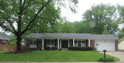 Chesterfield MO Single Family Home For Sale: $269,900