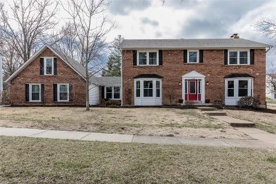 Ballwin Single Family Home For Sale: 569 Hickory View Lane