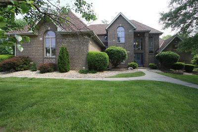 Glen Carbon Single Family Home For Sale: 8 Dunbridge Court