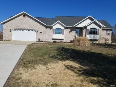 Bethalto Single Family Home For Sale: 3837 McCoy