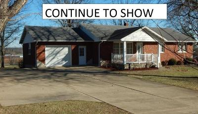 Single Family Home For Sale: 727 Tanglewood Acres