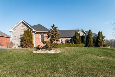 Waterloo Single Family Home For Sale: 823 Ridge