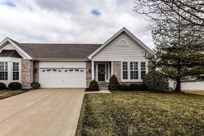 Lake St Louis Single Family Home Contingent No Kickout: 1545 Ridgepointe Place Drive