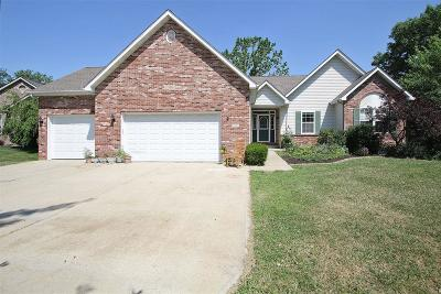 Edwardsville Single Family Home For Sale: 3486 Manassas