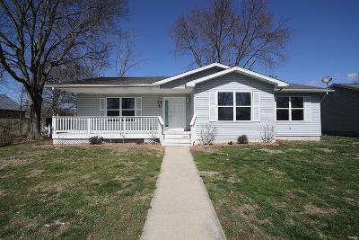 Highland Single Family Home For Sale: 203 East Pocahontas Road