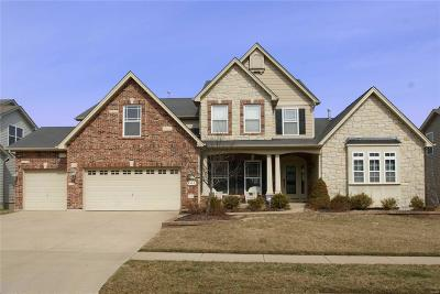 Wentzville Single Family Home Contingent No Kickout: 447 Parkview Manor Lane