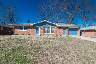 Fairview Heights Single Family Home For Sale: 21 Debra Drive