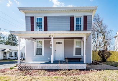 Single Family Home For Sale: 219 South Seminary Street
