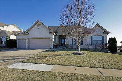 Dardenne Prairie Single Family Home For Sale: 1620 Brett Ridge Drive