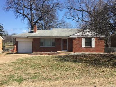 St Louis Single Family Home Contingent Short Sale: 9228 Waldorf Drive