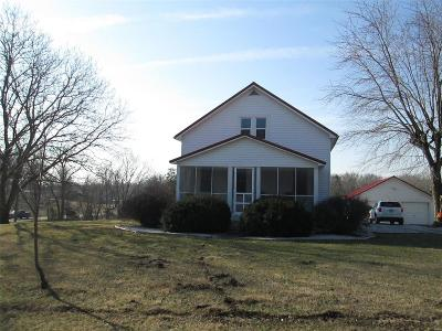 Hannibal MO Single Family Home For Sale: $132,500
