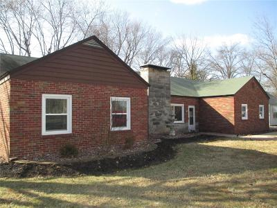 Godfrey IL Single Family Home For Sale: $179,000