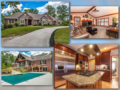 Wentzville MO Single Family Home For Sale: $840,000