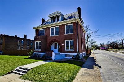 St Louis Single Family Home For Sale: 4270 Delmar Boulevard
