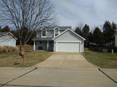 Wentzville MO Single Family Home For Sale: $179,900