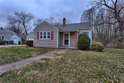 Edwardsville Single Family Home For Sale: 115 Circle