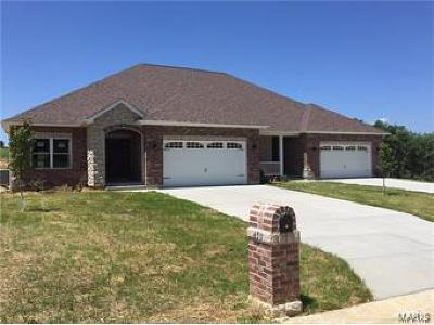 Villa Ridge Single Family Home For Sale: 422 Legacy Lane #TBB