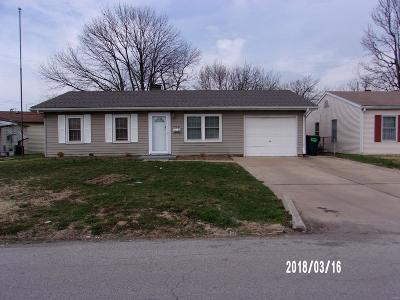 Cahokia IL Single Family Home For Sale: $41,999