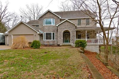 Single Family Home For Sale: 19139 Hardt Road