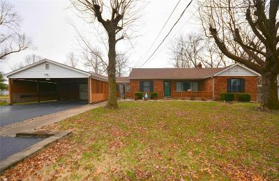Fairview Heights Single Family Home For Sale: 9912 Bunkum Road