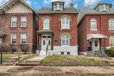 St Louis Single Family Home For Sale: 2853 Victor Street