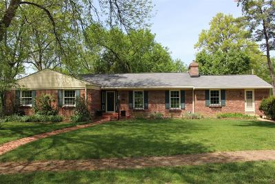 St Louis Single Family Home For Sale: 351 Geyer Forest Drive