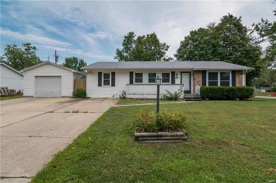 Godfrey IL Single Family Home For Sale: $115,000