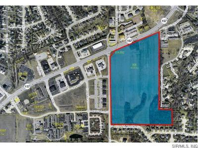 Glen Carbon Commercial For Sale: Hwy 157 And N Meridian Road