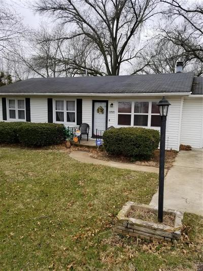 Single Family Home For Sale: 12925 Bellefontaine