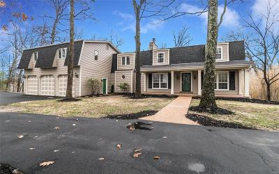 Wildwood Single Family Home For Sale: 1227 Wooded Fork Road