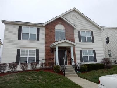 Fairview Heights Condo/Townhouse Contingent No Kickout: 705 Tower Grove Dr. #A