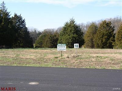 Wright City MO Residential Lots & Land For Sale: $39,500