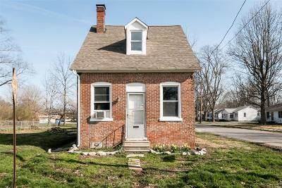 Mascoutah IL Single Family Home For Sale: $50,000