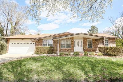 Ballwin Single Family Home For Sale: 266 Braeshire Drive