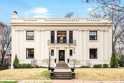 St Louis Single Family Home For Sale: 12 Kingsbury Place