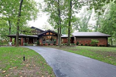 Creve Coeur Single Family Home For Sale: 12642 Mason Forest