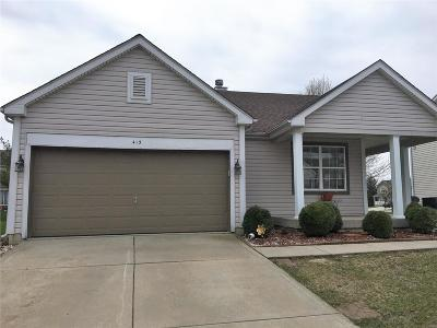 Fairview Heights Single Family Home For Sale: 415 Americana Circle