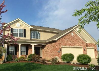 O'Fallon Single Family Home For Sale: 1307 Arbor Green