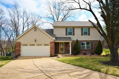 St Charles MO Single Family Home Contingent No Kickout: $249,900