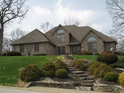 Alton Single Family Home For Sale: 5218 Richland Woods Drive