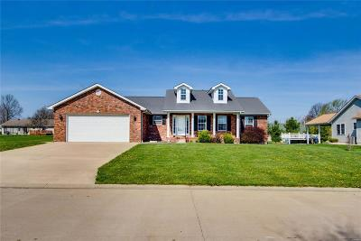 Jerseyville Single Family Home Contingent No Kickout: 1006 Lillian